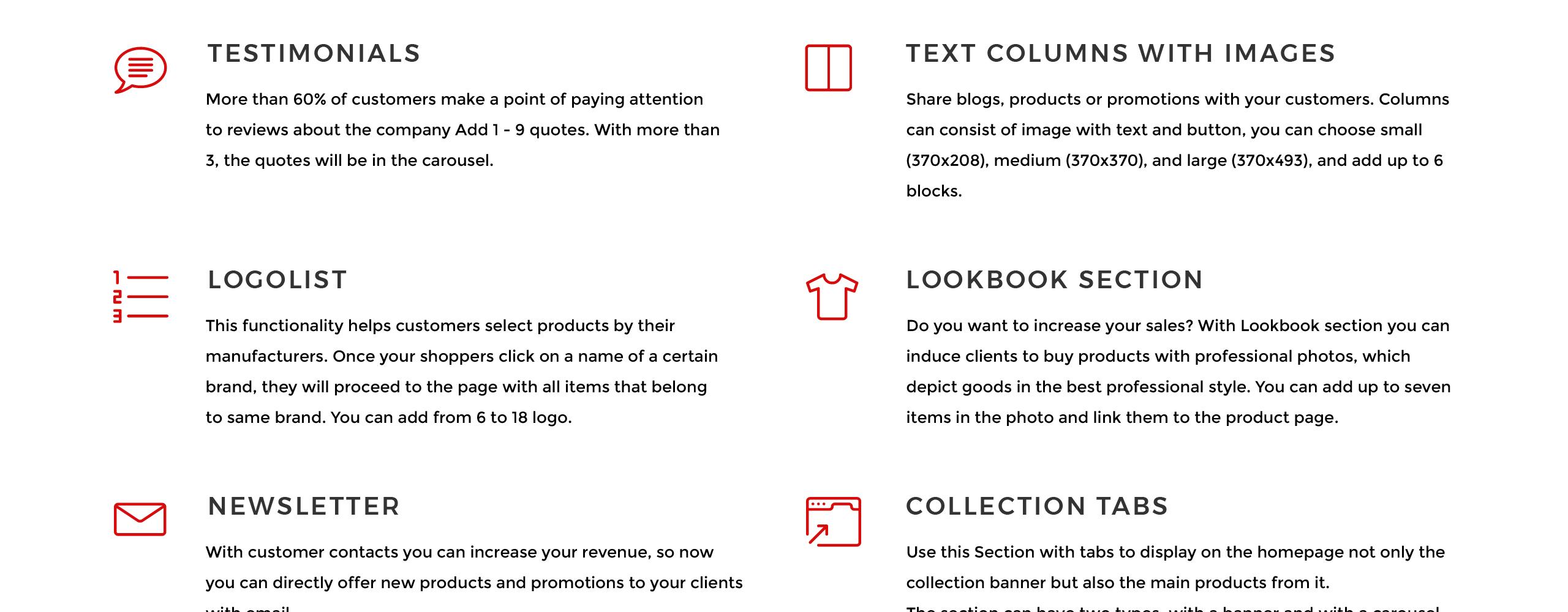Website Design Template 75795 - shopify storeundefined