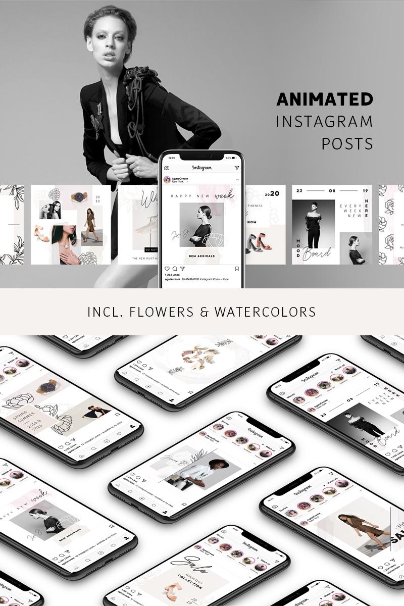 ANIMATED Instagram Pots – Pure Social Media - screenshot