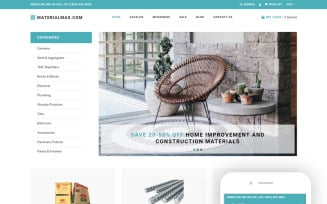 Materialmax - Building Materials Responcive Clear Shopify Theme