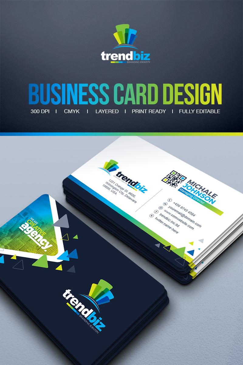 Modern Business Card Corporate Identity Template