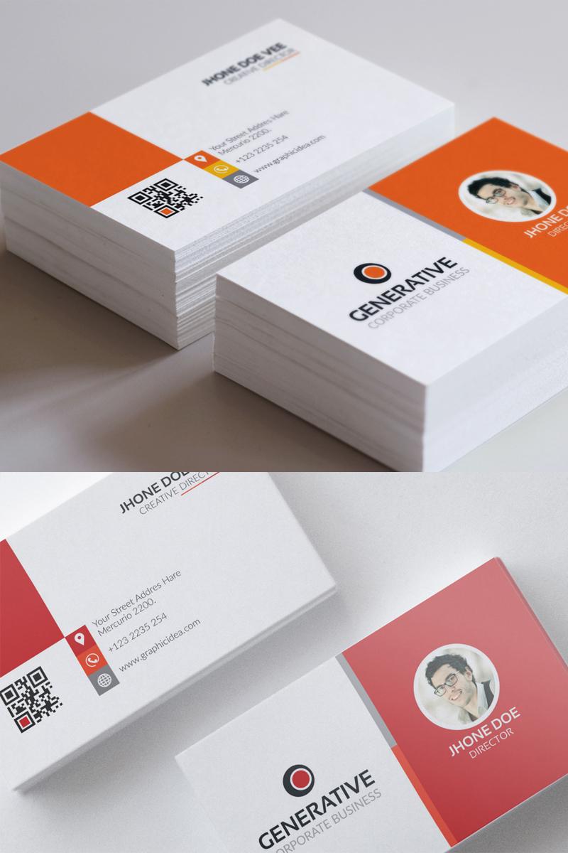 Multipurpose Business Card | vol.02 Corporate Identity Template