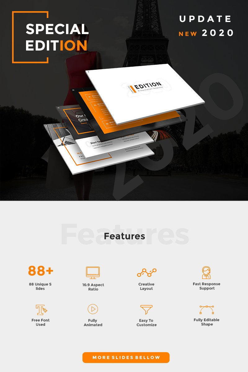 Special Edition 2020 PowerPoint Template - screenshot
