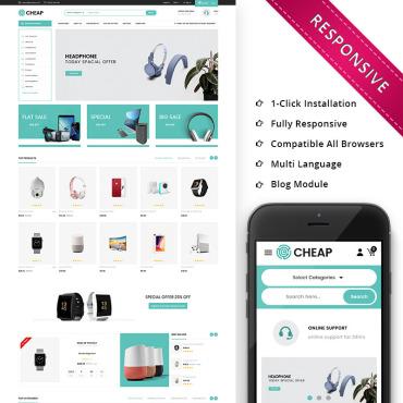 Купить  пофессиональные PrestaShop шаблоны. Купить шаблон #75817 и создать сайт.