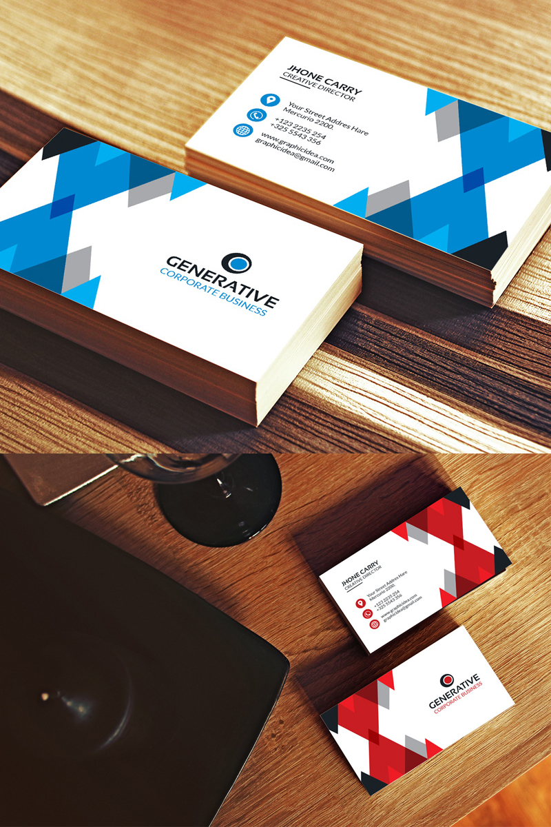 Business Card | vol.05 Corporate Identity Template