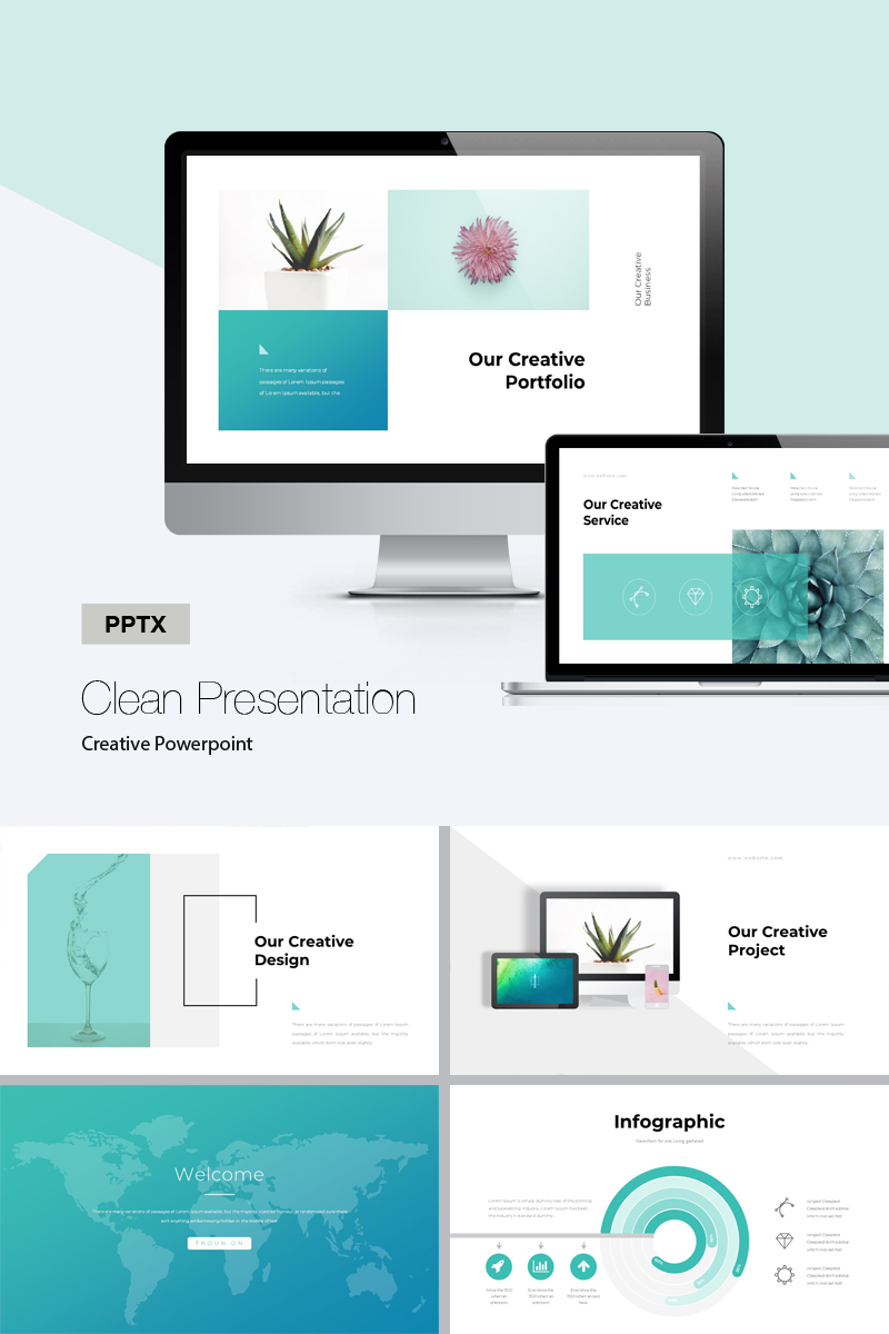 Corporate - Template PowerPoint №75852