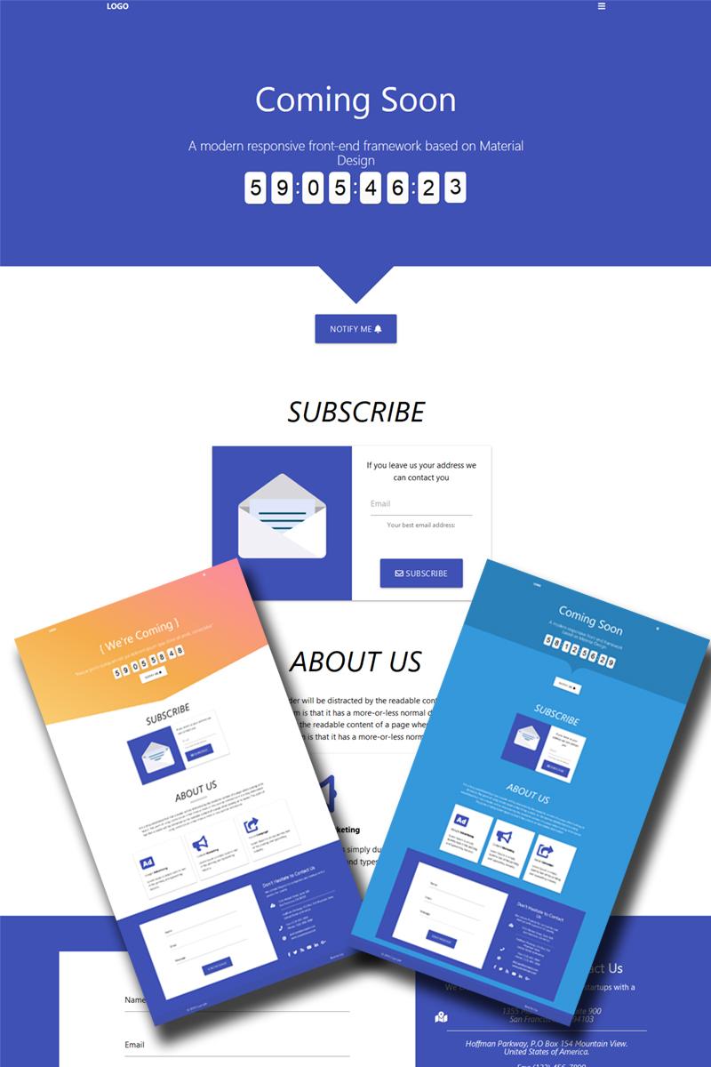 COSO - Coming Soon HTML Páginas Especiais №75879