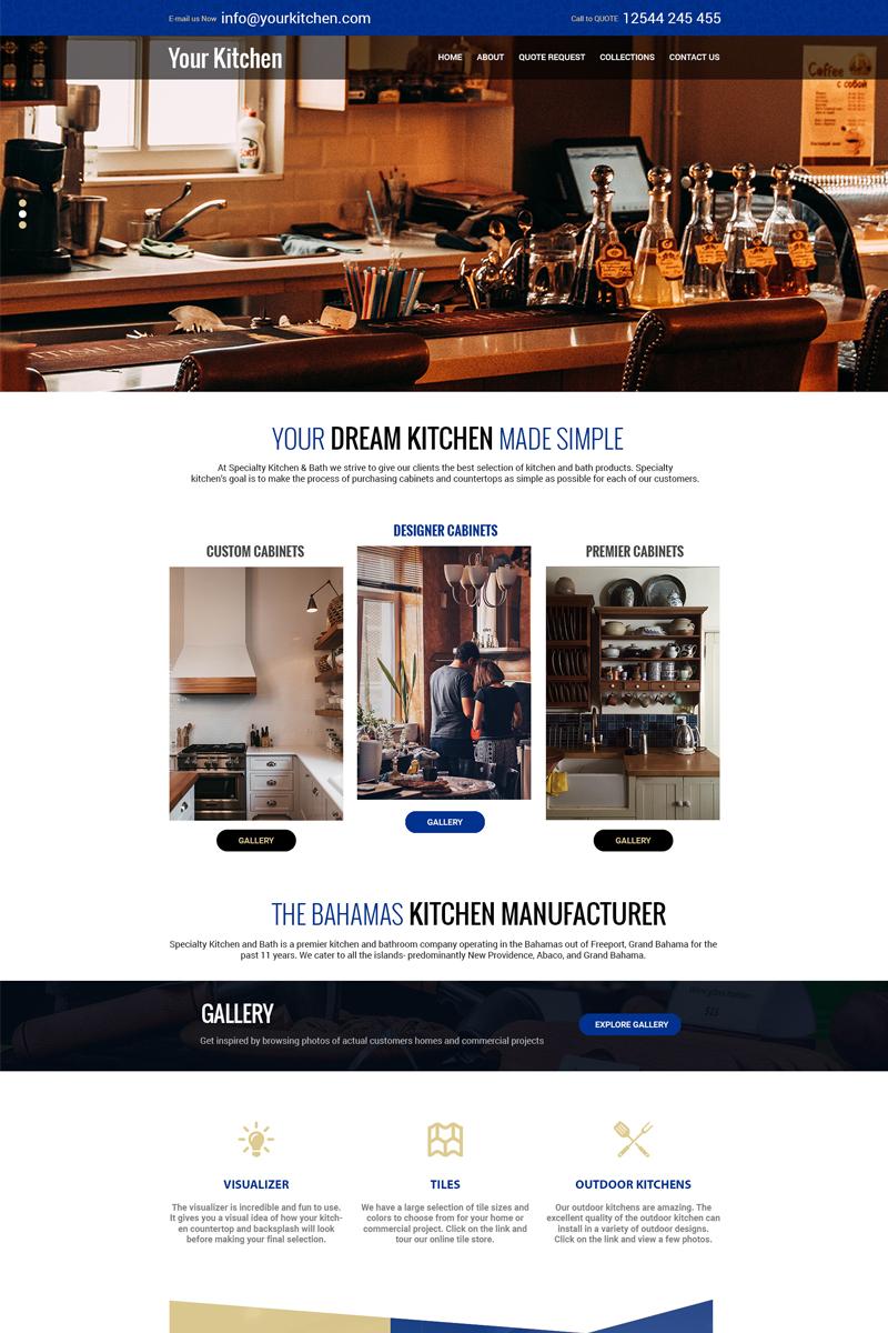 YourKitchen - Multipurpose Kitchen PSD Template