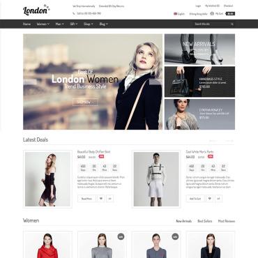 Купить  пофессиональные WooCommerce шаблоны. Купить шаблон #75917 и создать сайт.