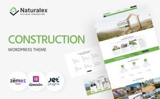 Naturalex - Construction Multipurpose Classic WordPress Elementor Theme