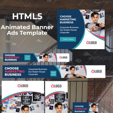 Купить  пофессиональные Animated Banners. Купить шаблон #75954 и создать сайт.