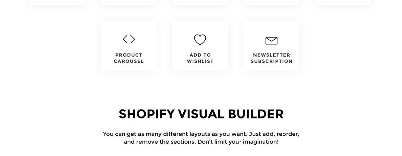Website Design Template 75971 - shop shopify