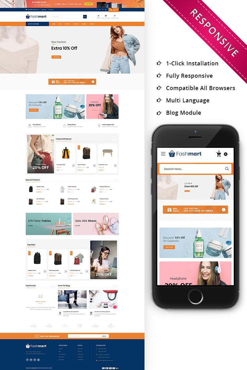Fashmart - The Mega Store Responsive OpenCart Template - screenshot