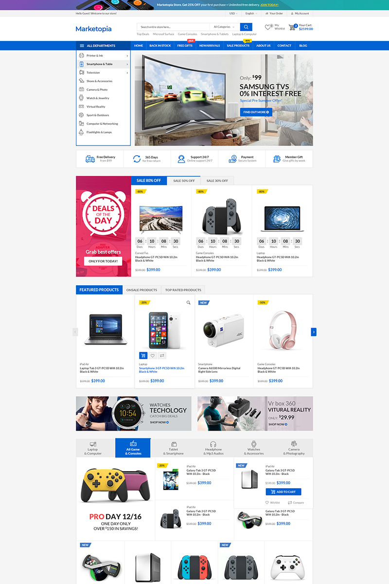 MarketOpia WooCommerce Theme