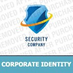 Security Corporate Identity Template 7681