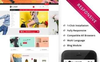 Buymart - The Mega Shop Responsive OpenCart Template
