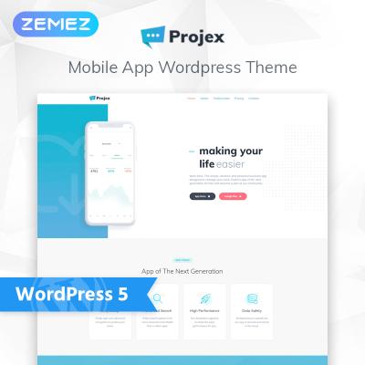 Mjukvaruföretag Responsivt WordPress-tema