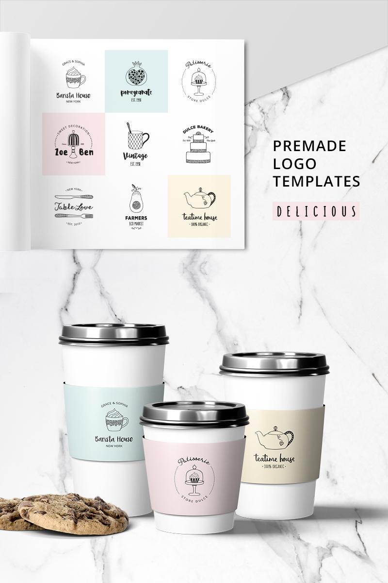 """DELICIOUS Premade Logo Set"" modèle logo  #76097"