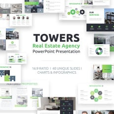 real estate powerpoint templates templatemonster