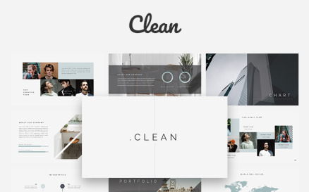 Clean Creative Keynote Template