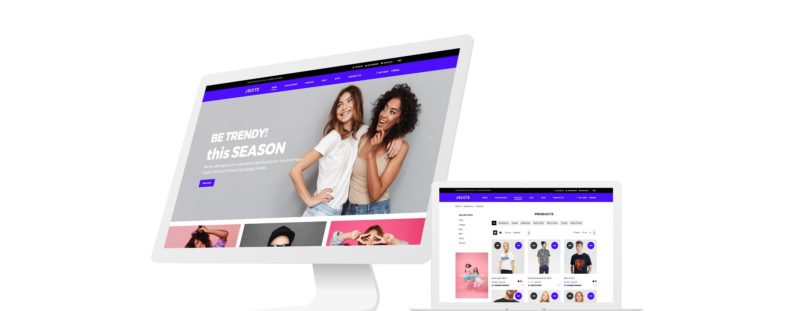 Website Design Template 76138 - shopify