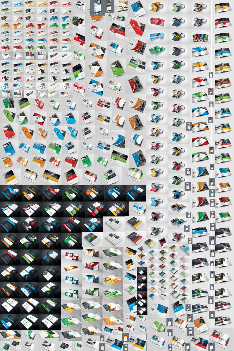 All in One Print Ready Printing - 320+ Items Corporate identity-mall #76136