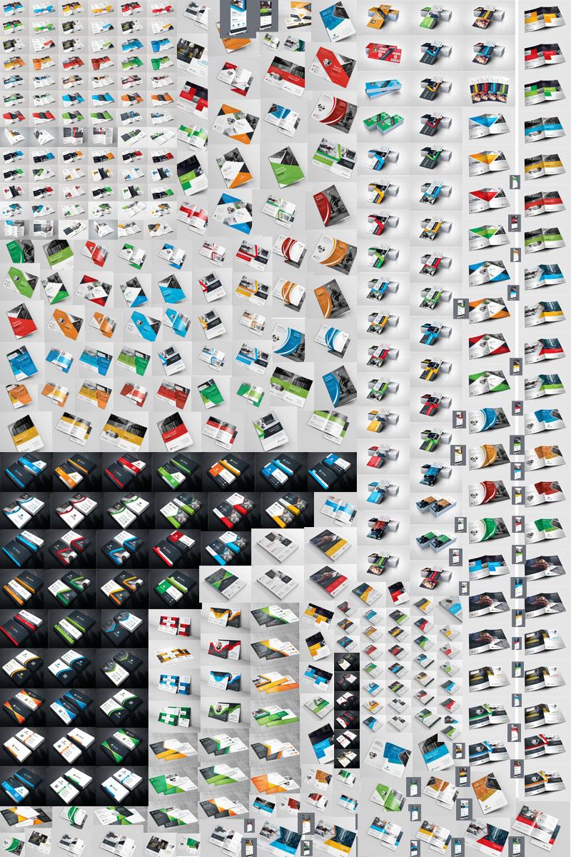 All in One Print Ready Printing - 320+ Items Márkastílus sablon 76136