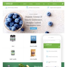 nutrition store templates templatemonster