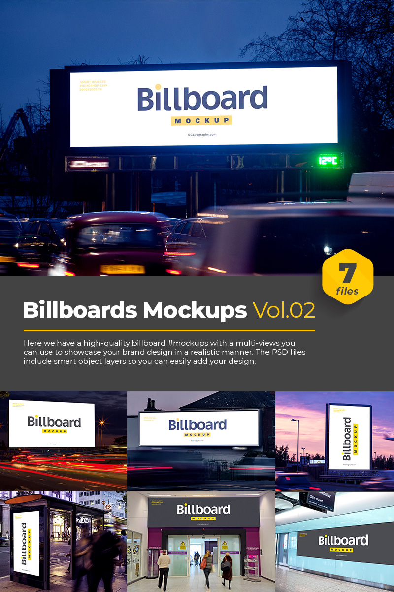 "Maketa produktu ""Billboards Vol.2"" #76182"