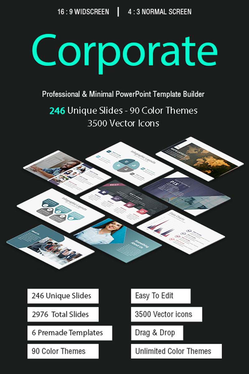 Pix - Corporate 2 in 1 PowerPoint Template - screenshot