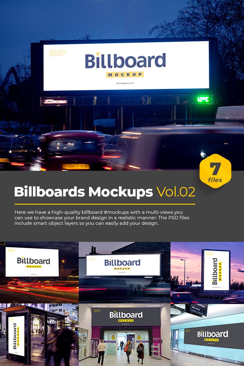 """Tema Mockup del prodotto #76182 """"Billboards Vol.2"""""""
