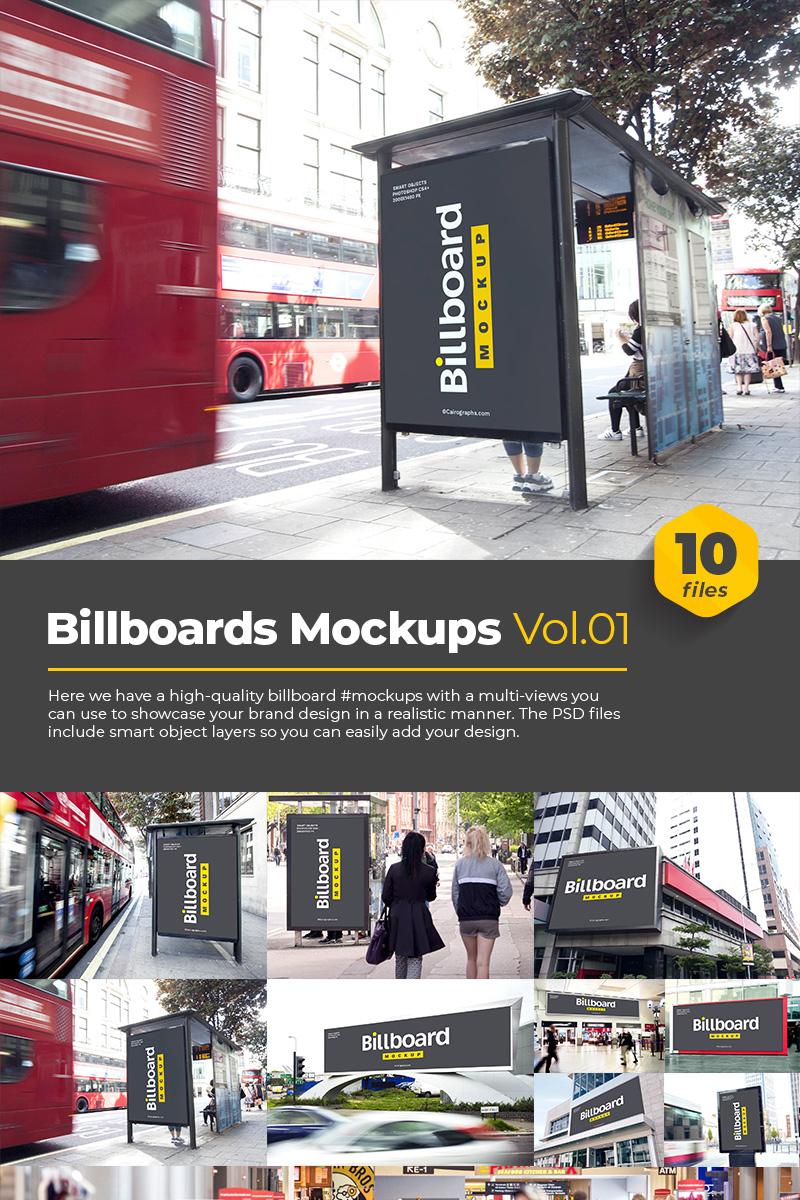 """Template Mockup del prodotto #76183 """"Billboards"""""""