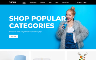 faShop - Wholesale Store Ready-To-Use Clean Shopify Theme