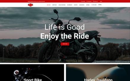 Mototab - Cars & Motorcycle Modern Shopify Theme