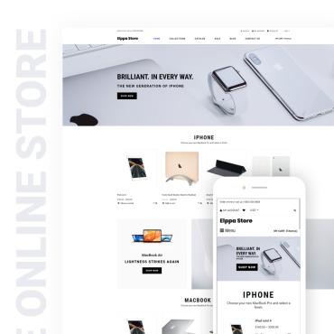 Купить  пофессиональные Shopify шаблоны. Купить шаблон #76286 и создать сайт.