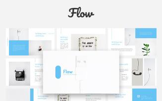 Flow - Creative Keynote Template