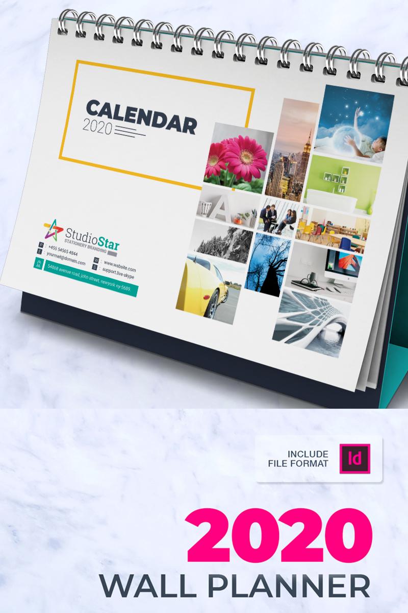 2020 Desk / Table Calendar / Planner