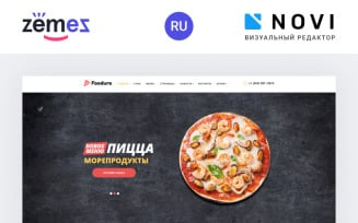 Foodure - Restaurant Ready-to-Use Multipage HTML Ru Website Template