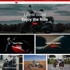 46+ Best Cars & Motorcycles Shopify Themes | TemplateMonster