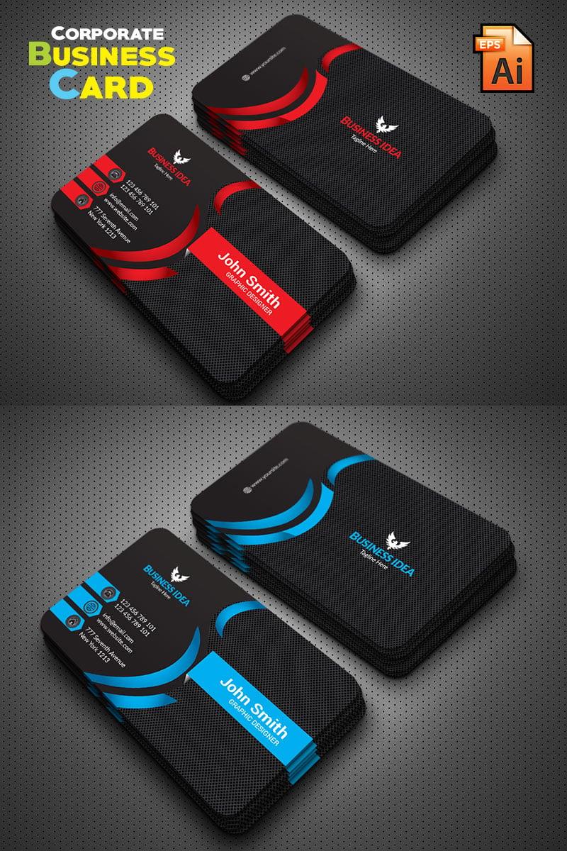 "Plantilla De Identidad Corporativa ""Professional Business Card"" #76215"