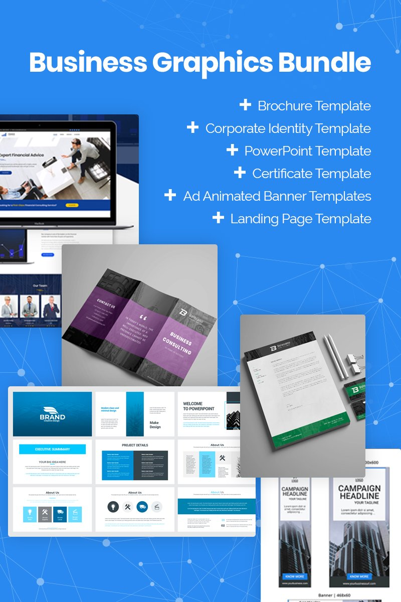 Xmas 2019 Business Graphics Bundle 76257