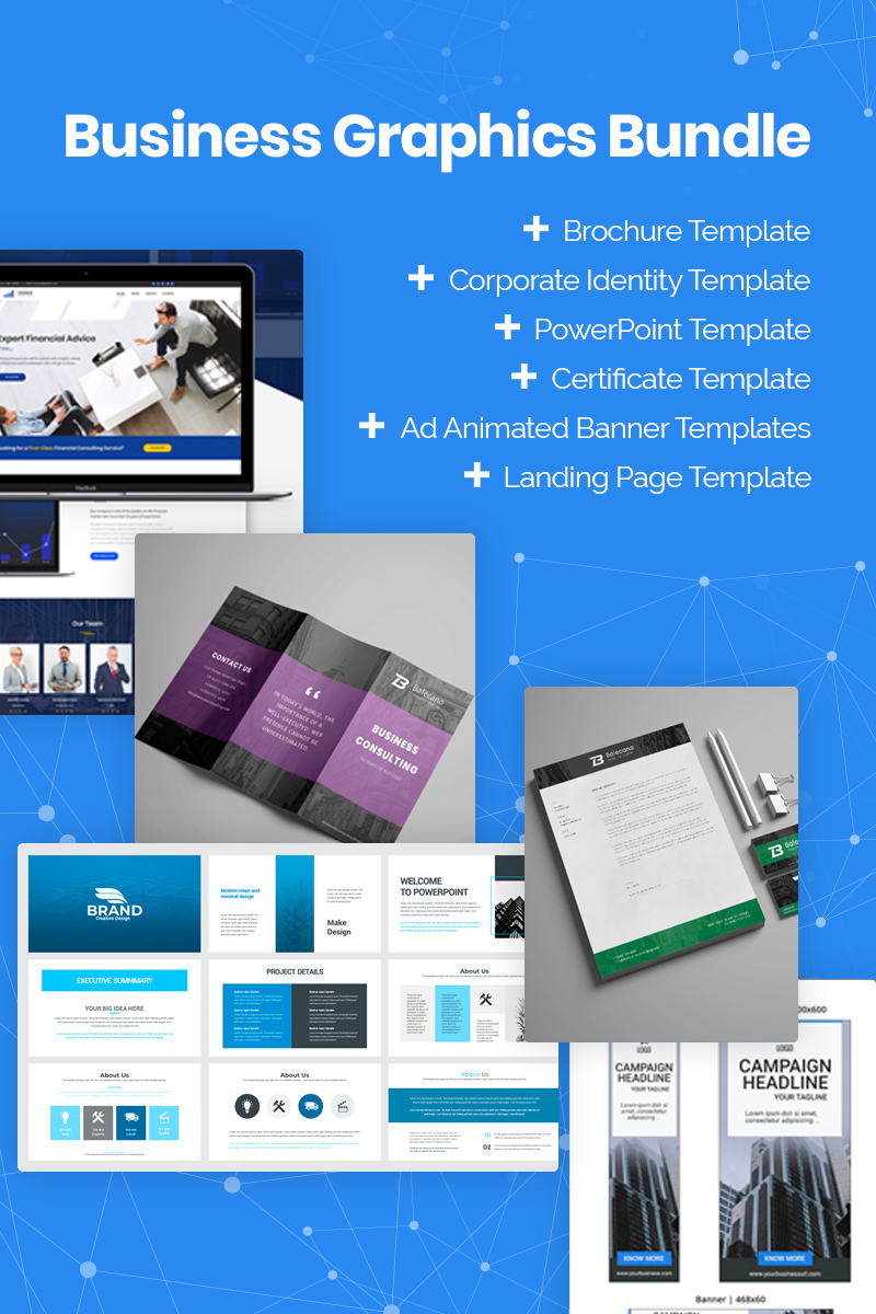 Xmas 2019 Business Graphics Bundle - screenshot