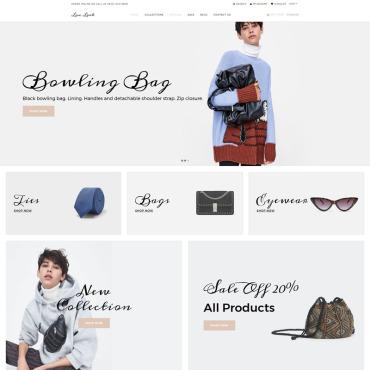 Купить  пофессиональные Shopify шаблоны. Купить шаблон #76305 и создать сайт.
