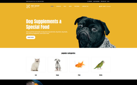 Pet Shop - Animals Bright Shopify Theme
