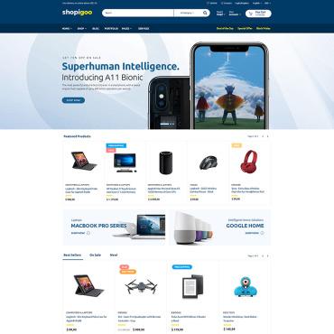Купить  пофессиональные WooCommerce шаблоны. Купить шаблон #76353 и создать сайт.