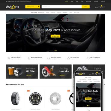 Купить  пофессиональные WooCommerce шаблоны. Купить шаблон #76375 и создать сайт.
