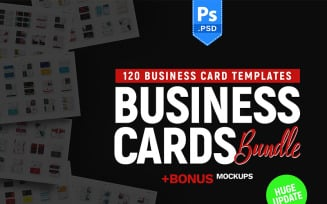 120 Business Cards Supersaver - Corporate Identity Template