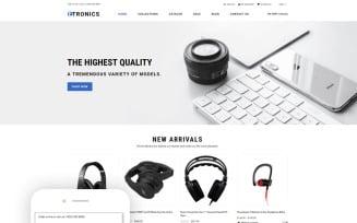 ETRONIX - Electronics Store Ready-To-Use Minimalistic Shopify Theme