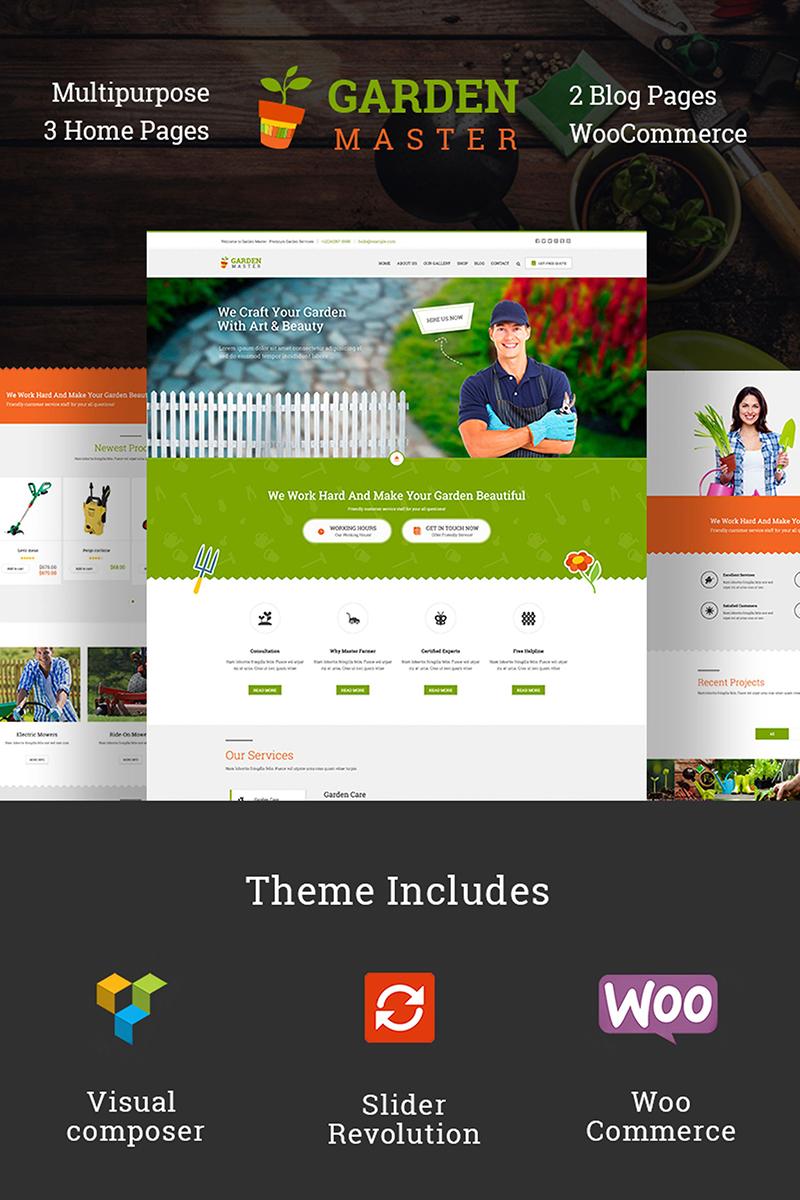 Garden Master - Gardening Website Template - screenshot