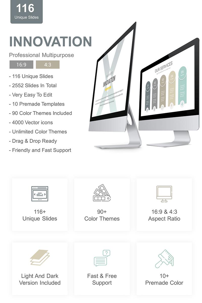 Innovation PowerPoint Template - screenshot