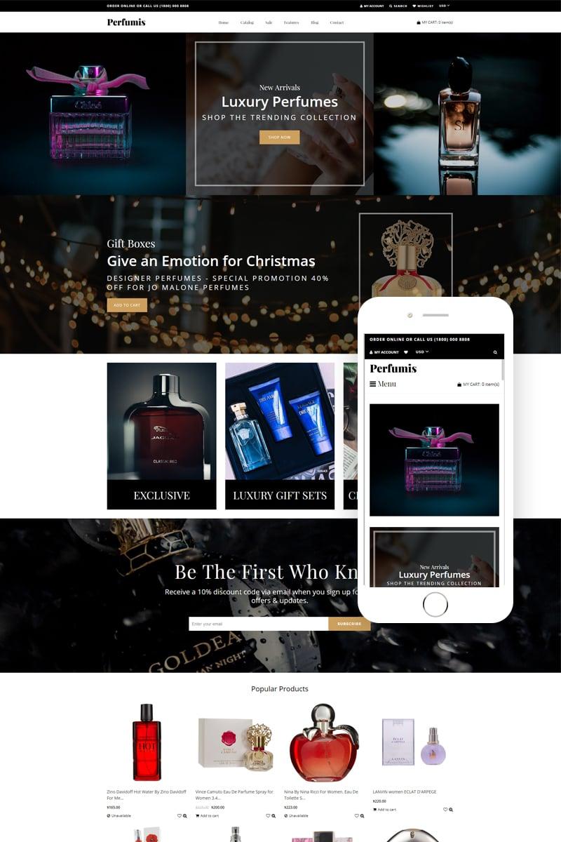 Perfumis - Perfume Responsive Luxury Shopify Theme - screenshot